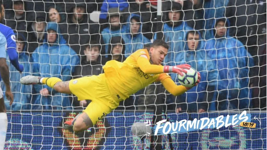 e88cff1fb City s Fourmidables in focus  Ederson - Manchester City FC
