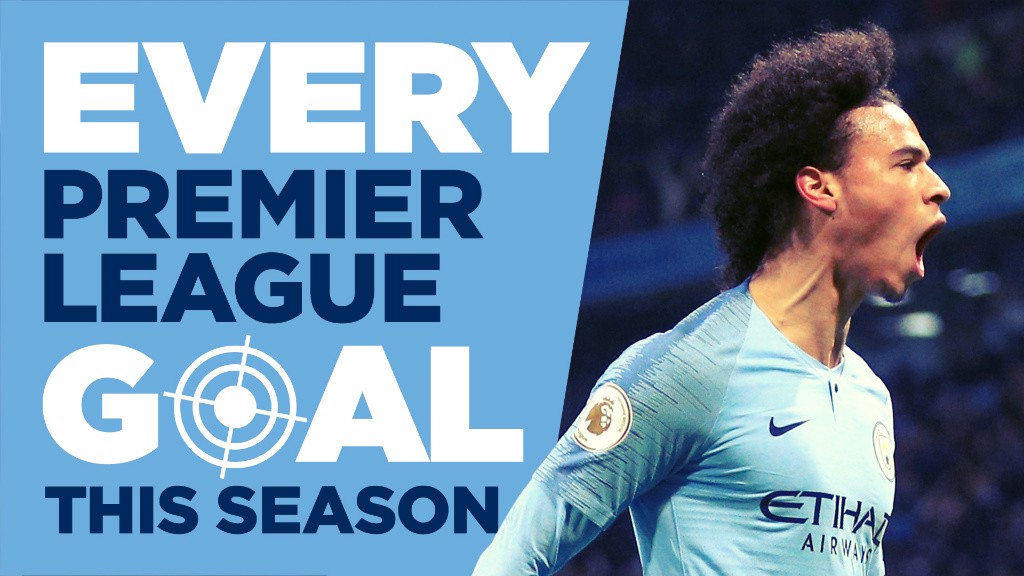 Every City Premier League goal this season
