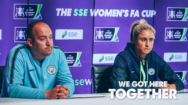 FA CUP FINAL: Nick Cushing and Steph Houghton have previewed this weekend's big game