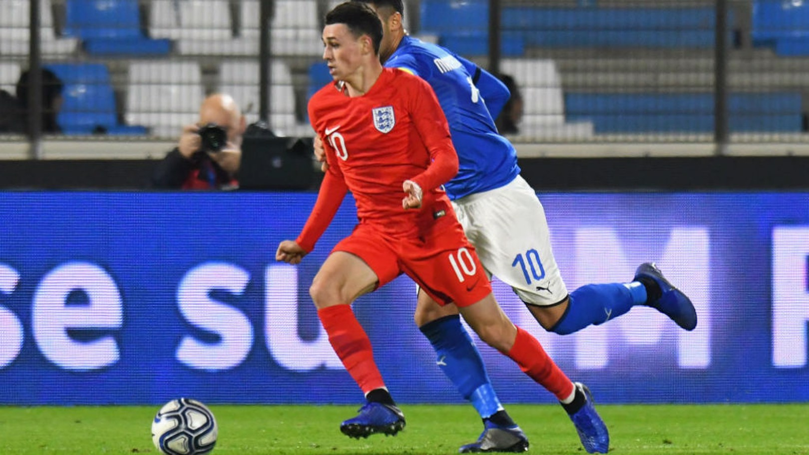 Foden named in England U21 squad for Euro 2019