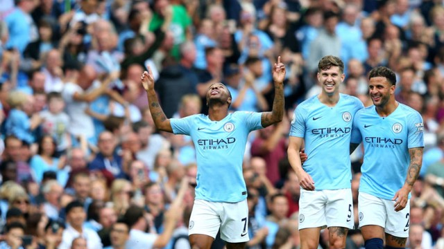 TITLE TALK: Sterling, Stones and Walker discuss the race for the Premier League and more