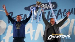 CHAMPIONS: City managed a superb record against fellow Top Six sides en route to the title