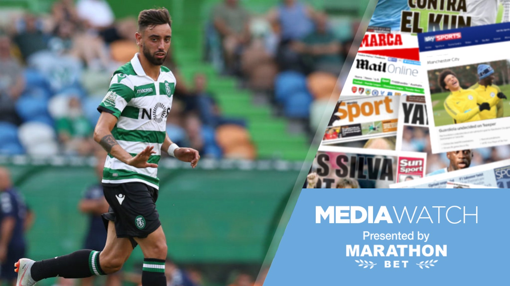RUMOURS: Reports claim City are to begin talks over Bruno Fernandes.