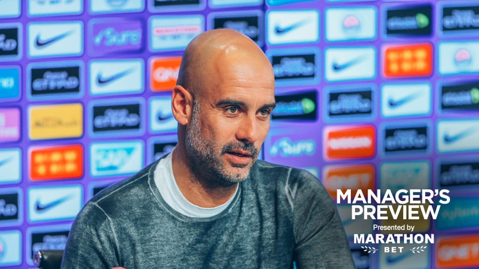 PEP TALK: The boss gives us an injury update as KDB returns to training