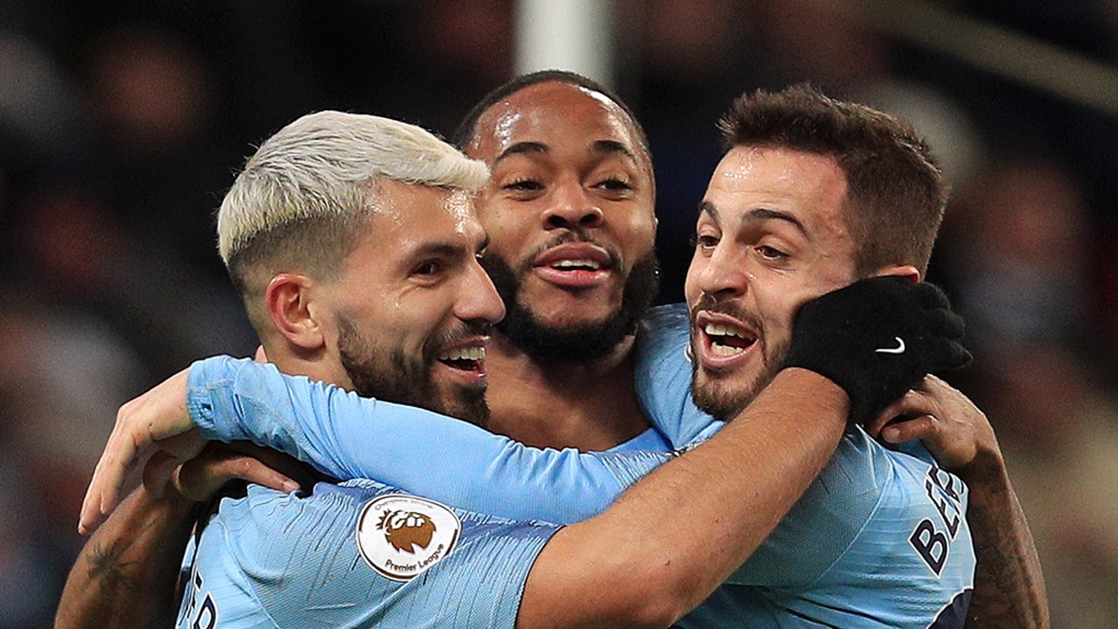 Trio do City.