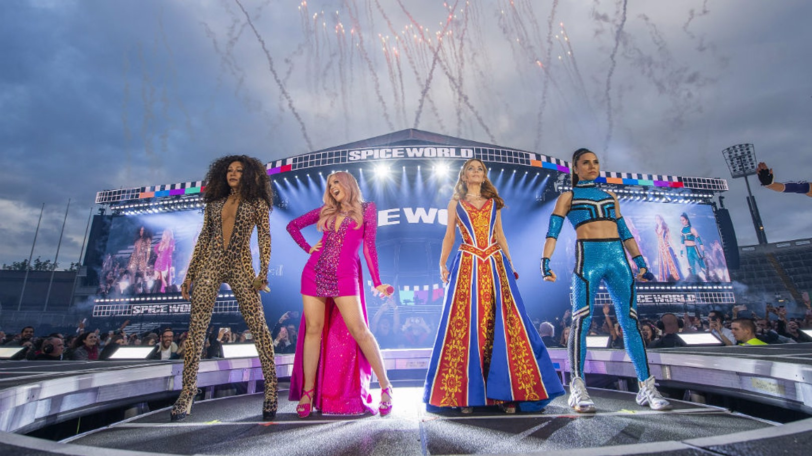 SHOW TIME: The Spice Girls will be playing three shows at the Etihad Stadium