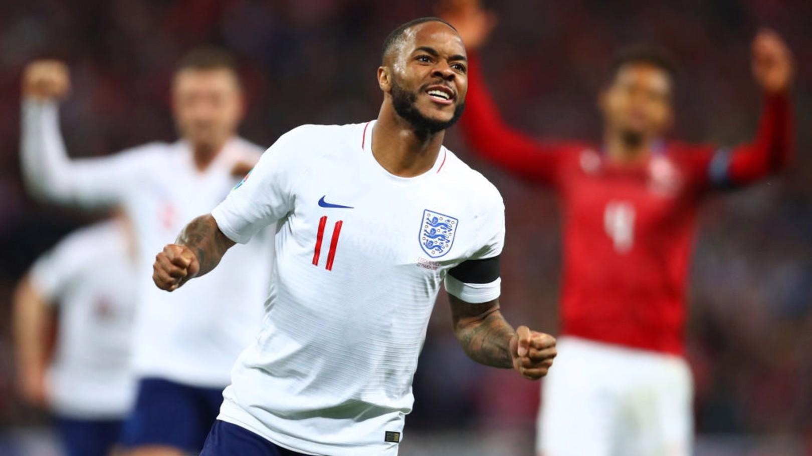 ENGLAND CALLING: Raheem Sterling is one of host of City players to represent his country this summer.