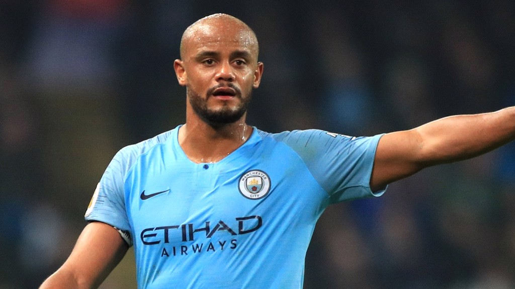 LEADER OF THE PACK: Vincent Kompany