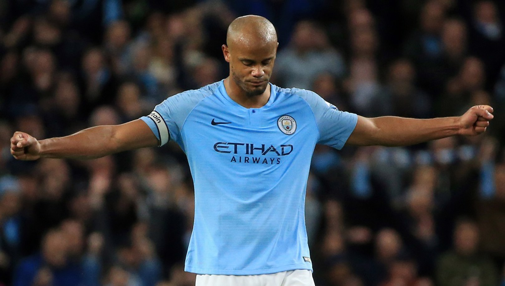 Kompany to lead City out one more time  