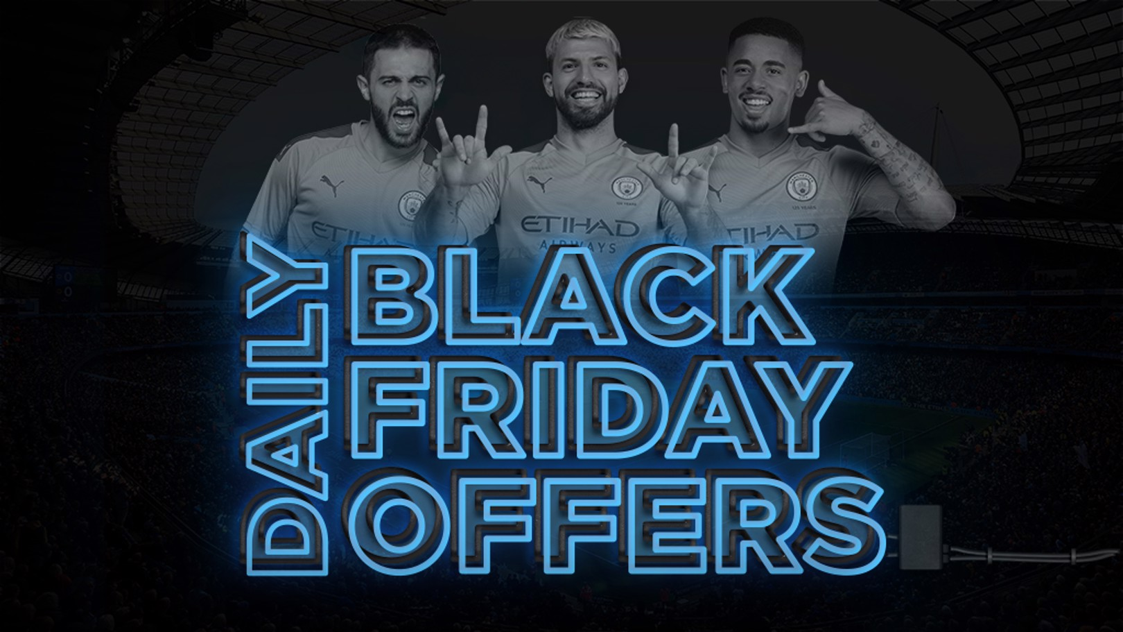 Black Friday daily offers are here!