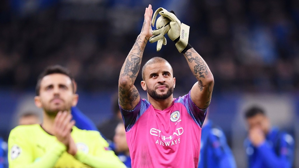 KYLE WALKER: Great week for the England star