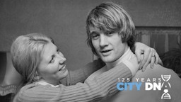 RODNEY MARSH: Pictured with wife Jean circa 1971