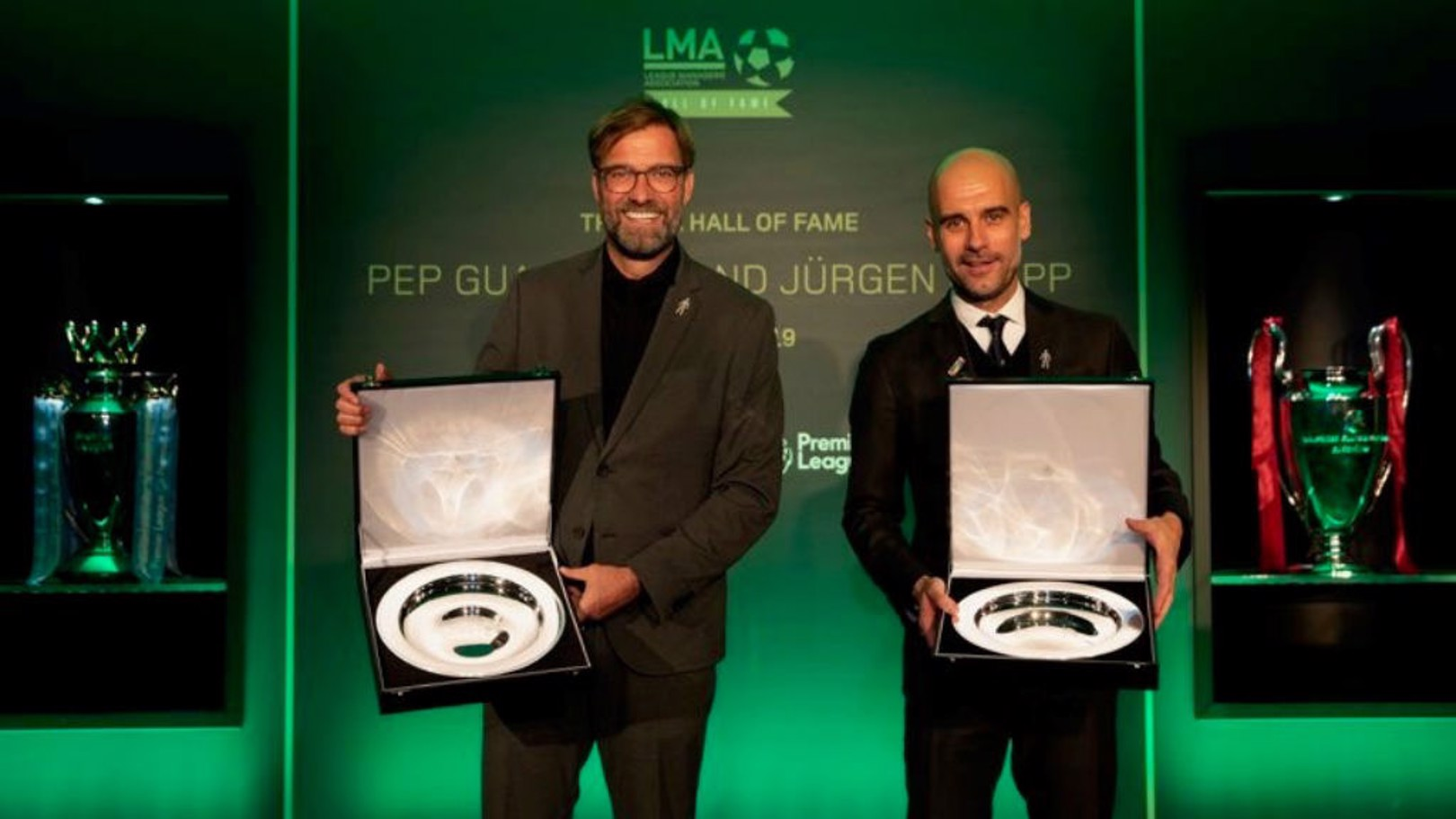 AWARD: Pep has been inducted into the LMA Hall of Fame