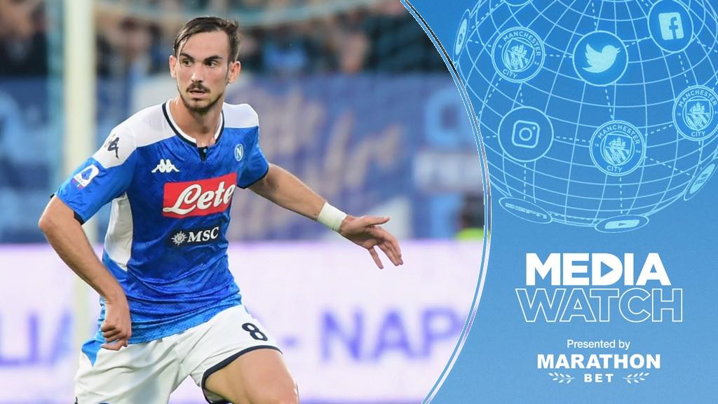 TARGET?: It's claimed City are monitoring Napoli midfielder Fabian Ruiz...