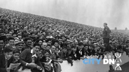 MAINE ATTRACTION: Though not the game against Stoke, an illustration of City's incredible pulling power at the time