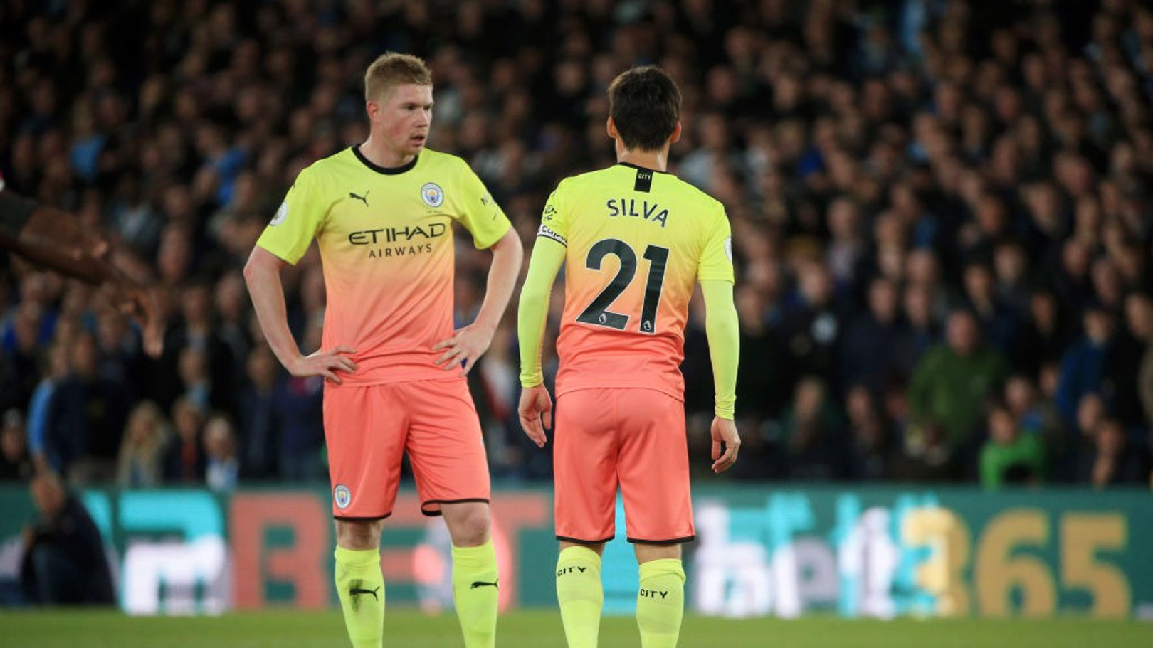 IN TANDEM: David Silva and Kevin De Bruyne.