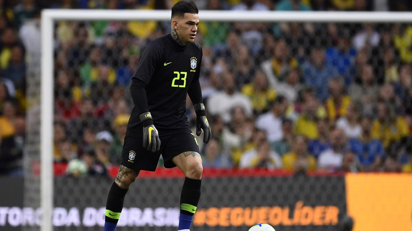 CALL UP: Ederson will represent Brazil during October's international break