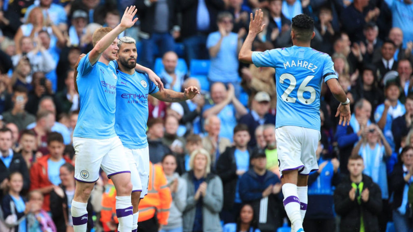 PFA AWARD: Two City players have made the six-man shortlist