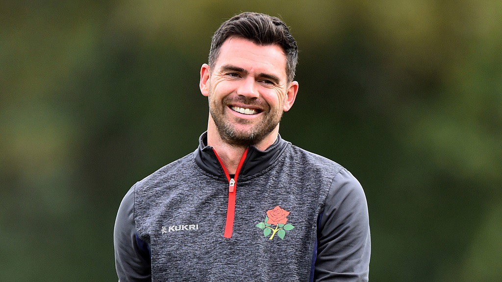 ENGLAND LEGEND: Jimmy Anderson