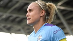 CAPTAIN'S CALL: Steph Houghton insists City are looking to the future - not the past