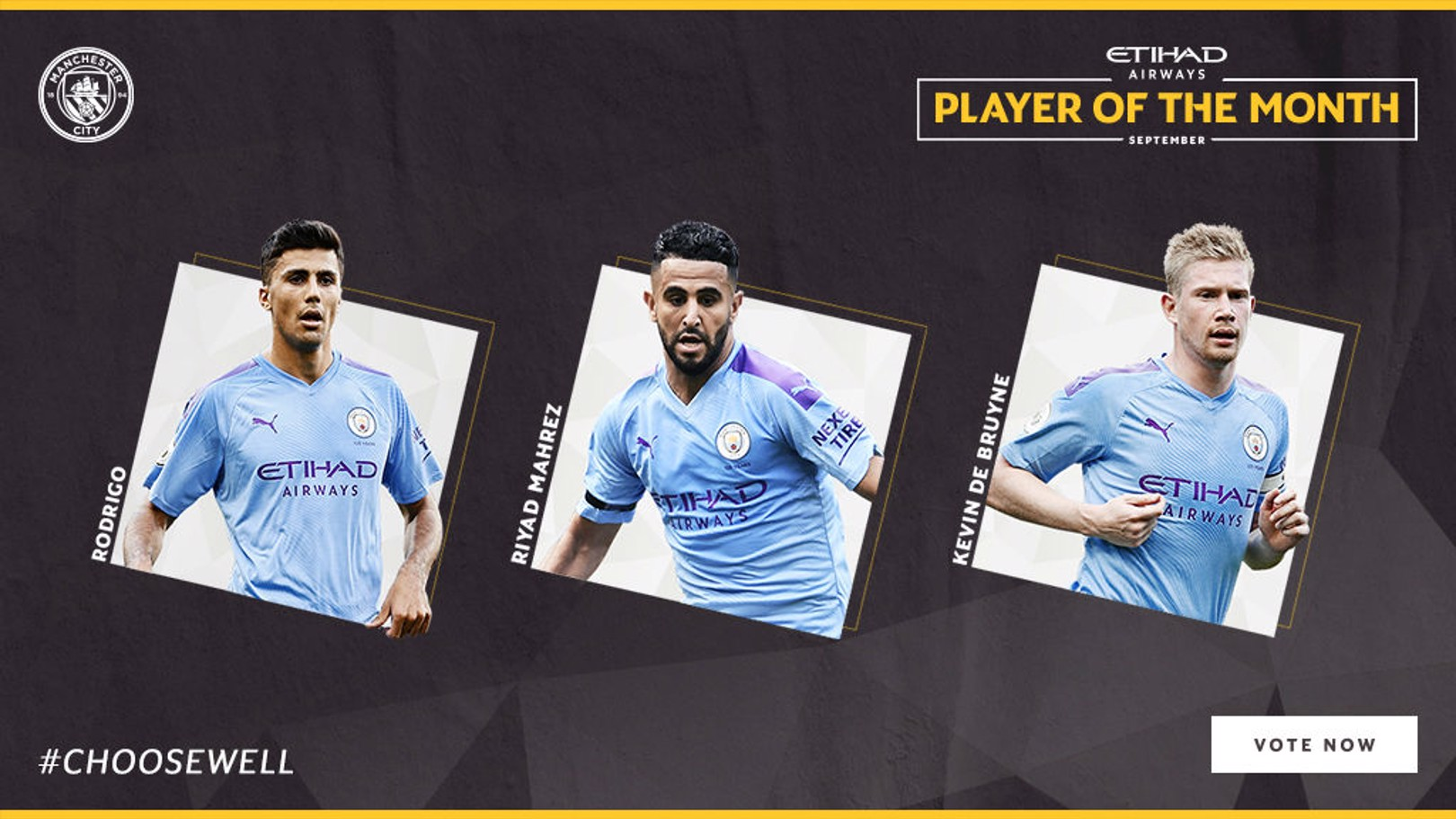 Nominasi Etihad Player Of The Month