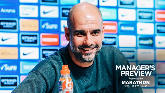 PEP TALK: The boss gave us a full update ahead of Wednesday's game