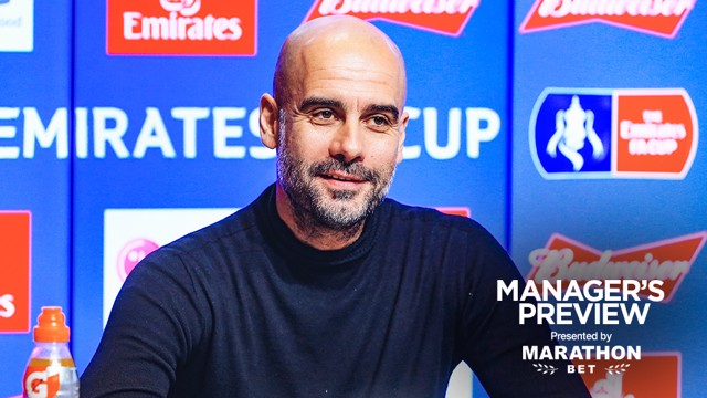 PEP TALK: The boss gave us a full update ahead of Saturday's game