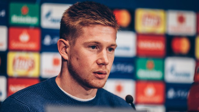 CHAMPIONS LEAGUE: Kevin De Bruyne wants success in Europe's elite knock-out competition