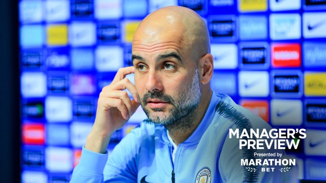 PEP TALK: The boss gives us an update ahead of saturday