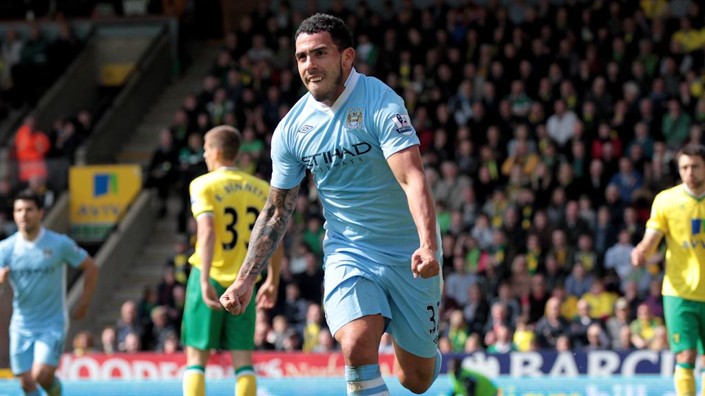 Kilas Balik: Tevez saat buat hat-trick melawan Norwich