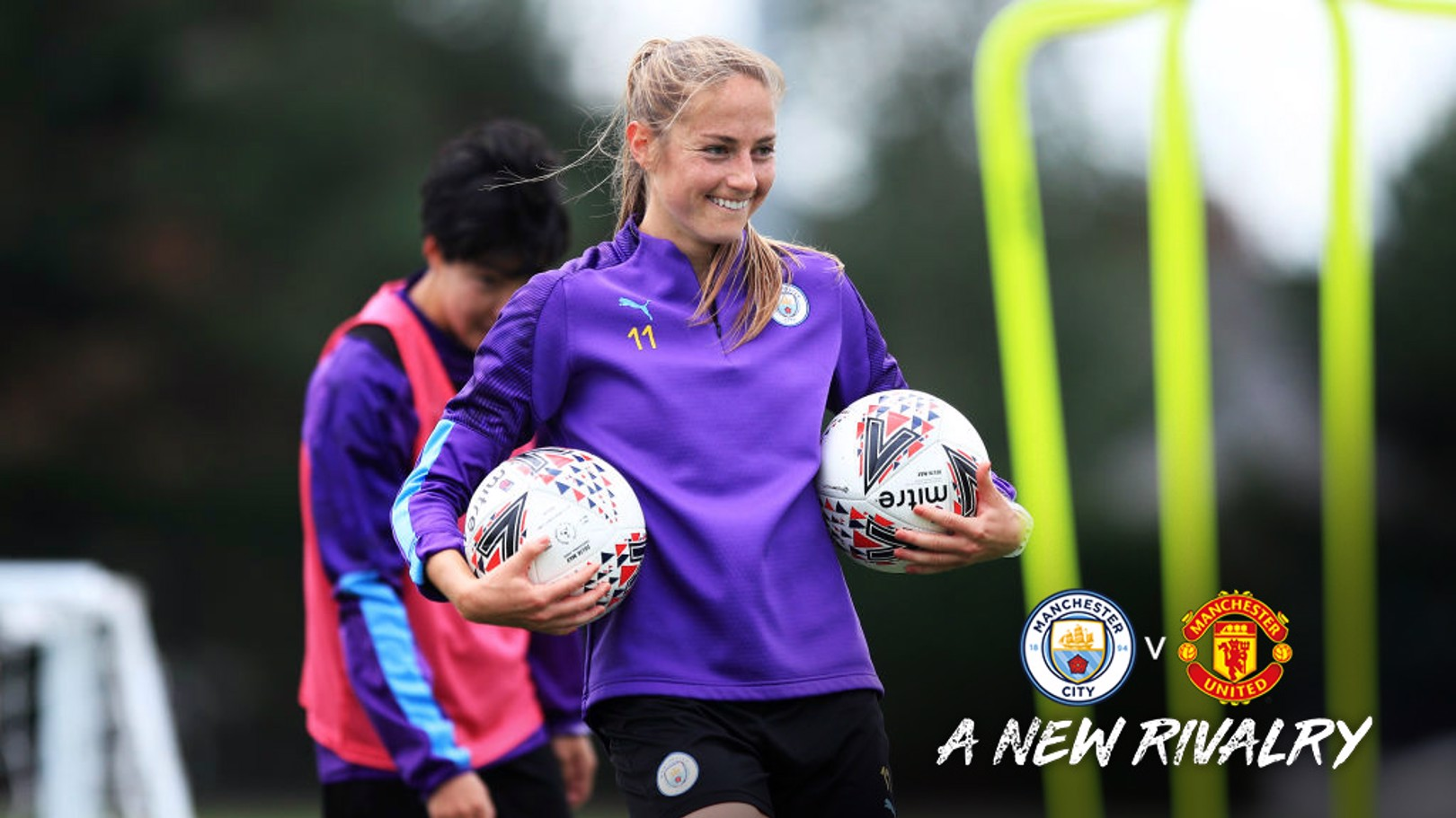 MATCH READY: Janine Beckie is looking forward to being part of the first Manchester derby in the FA WSL.