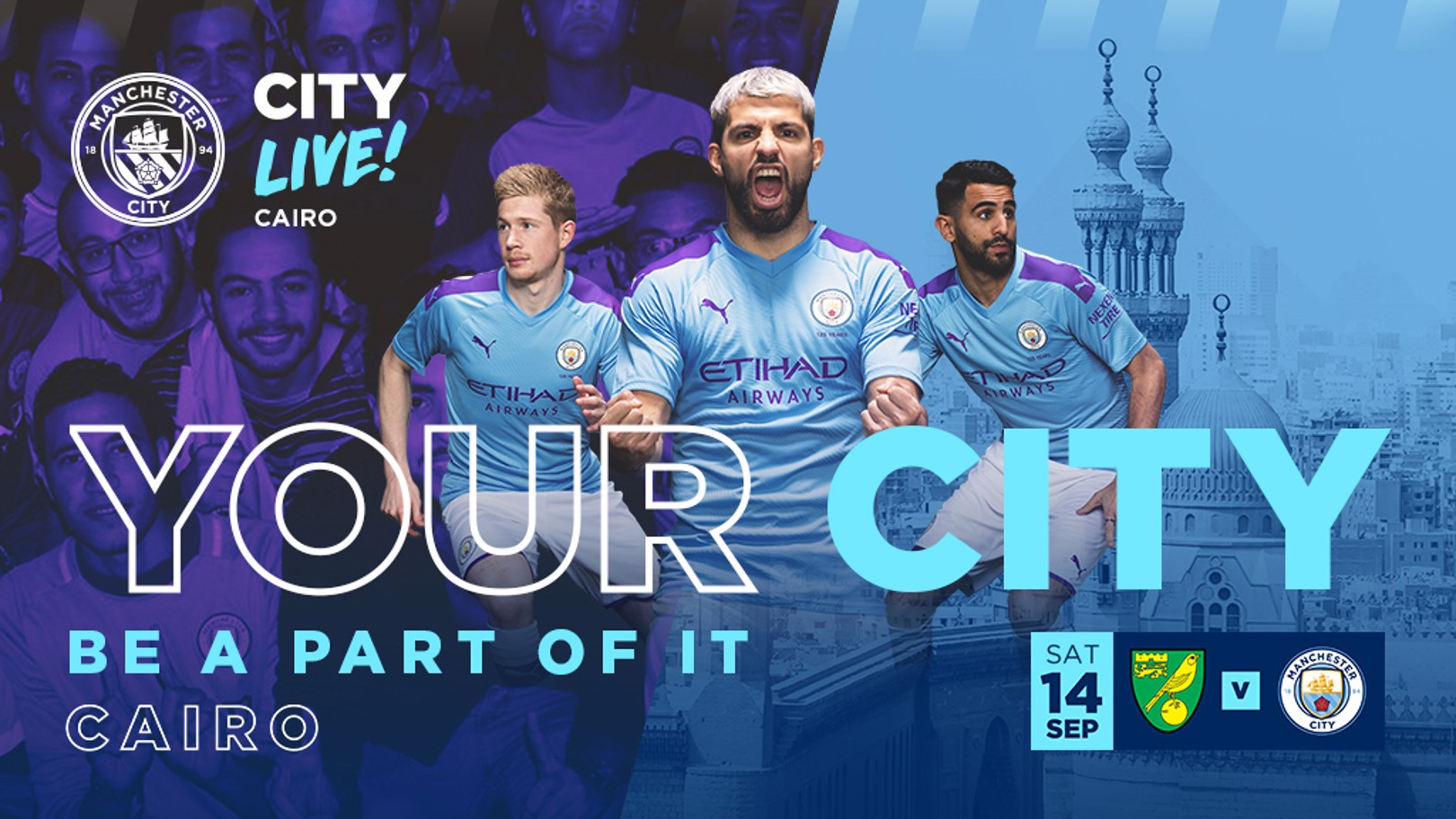 CITY LIVE: Join us in Cairo