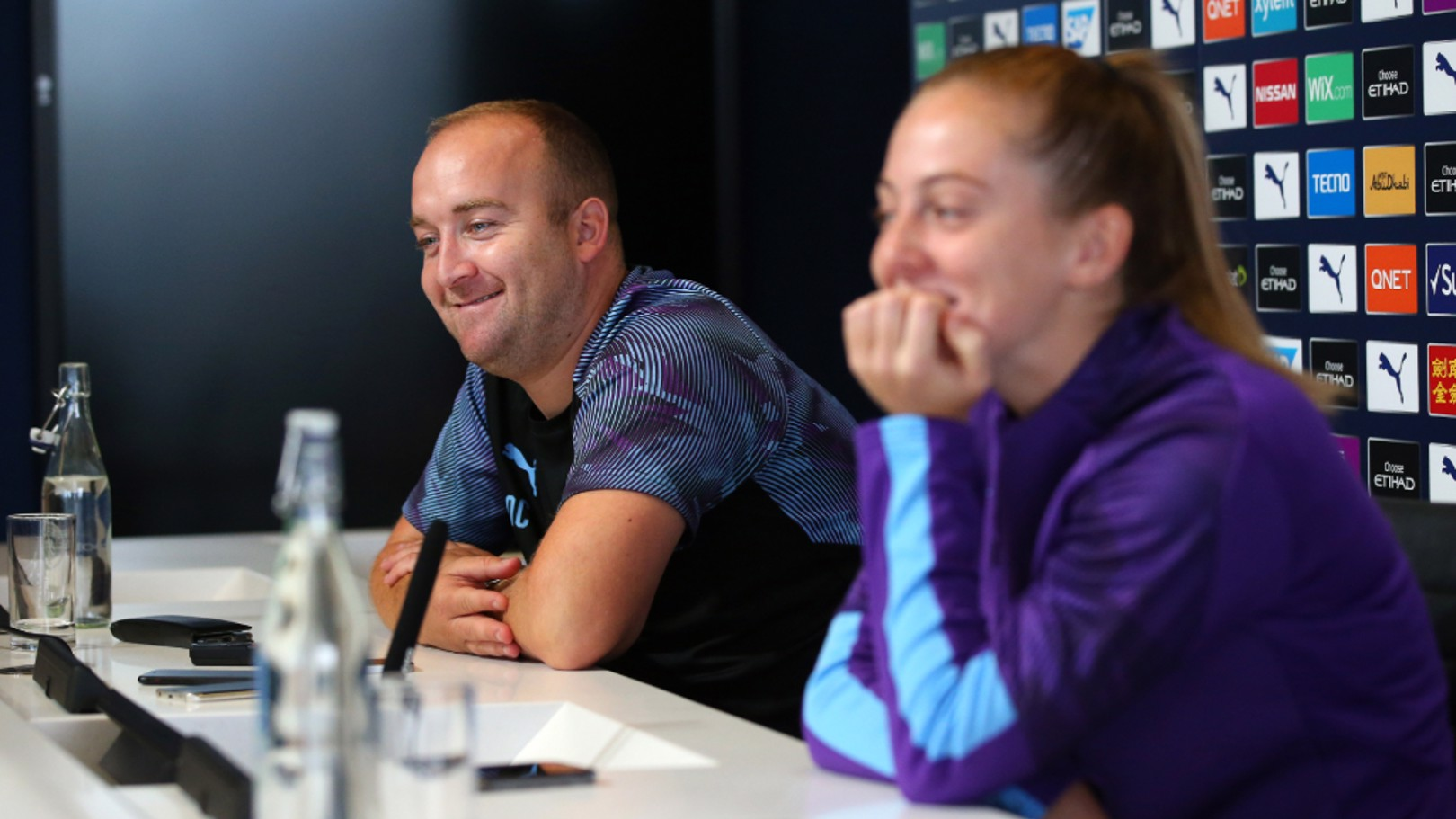 INFLUENTIAL: Nick Cushing hailed Keira Walsh's footballing intelligence