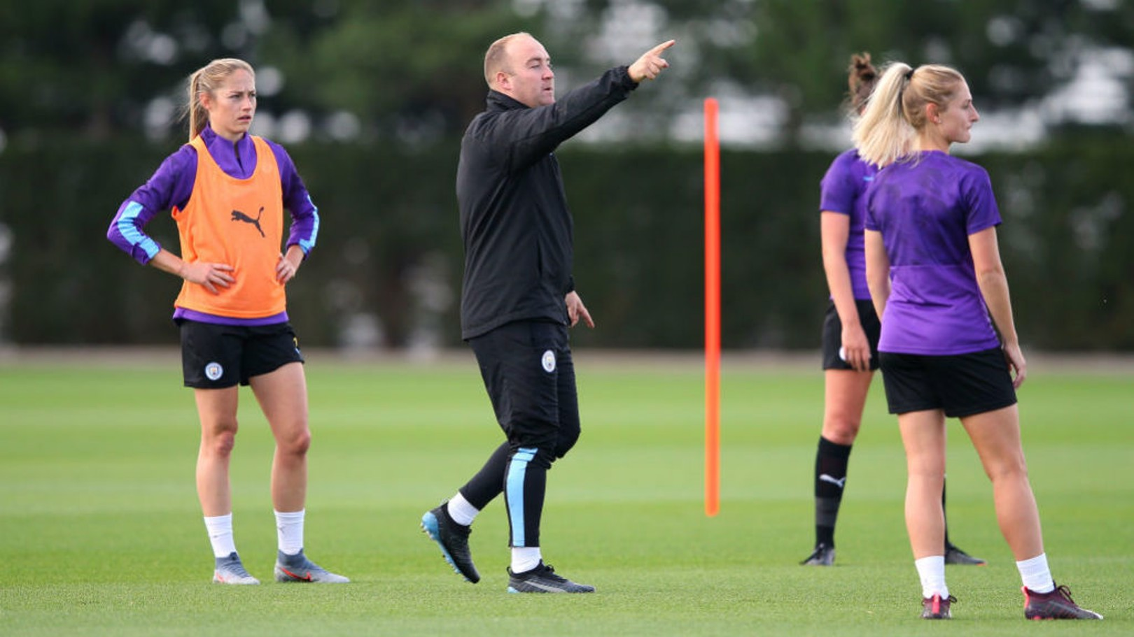 RAISING STANDARDS: Cushing says the WSL is getting better all the time