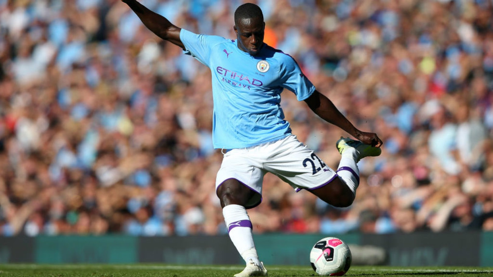 ON THE MENDY: Benjamin says he is delighted to be back after two serious injuries