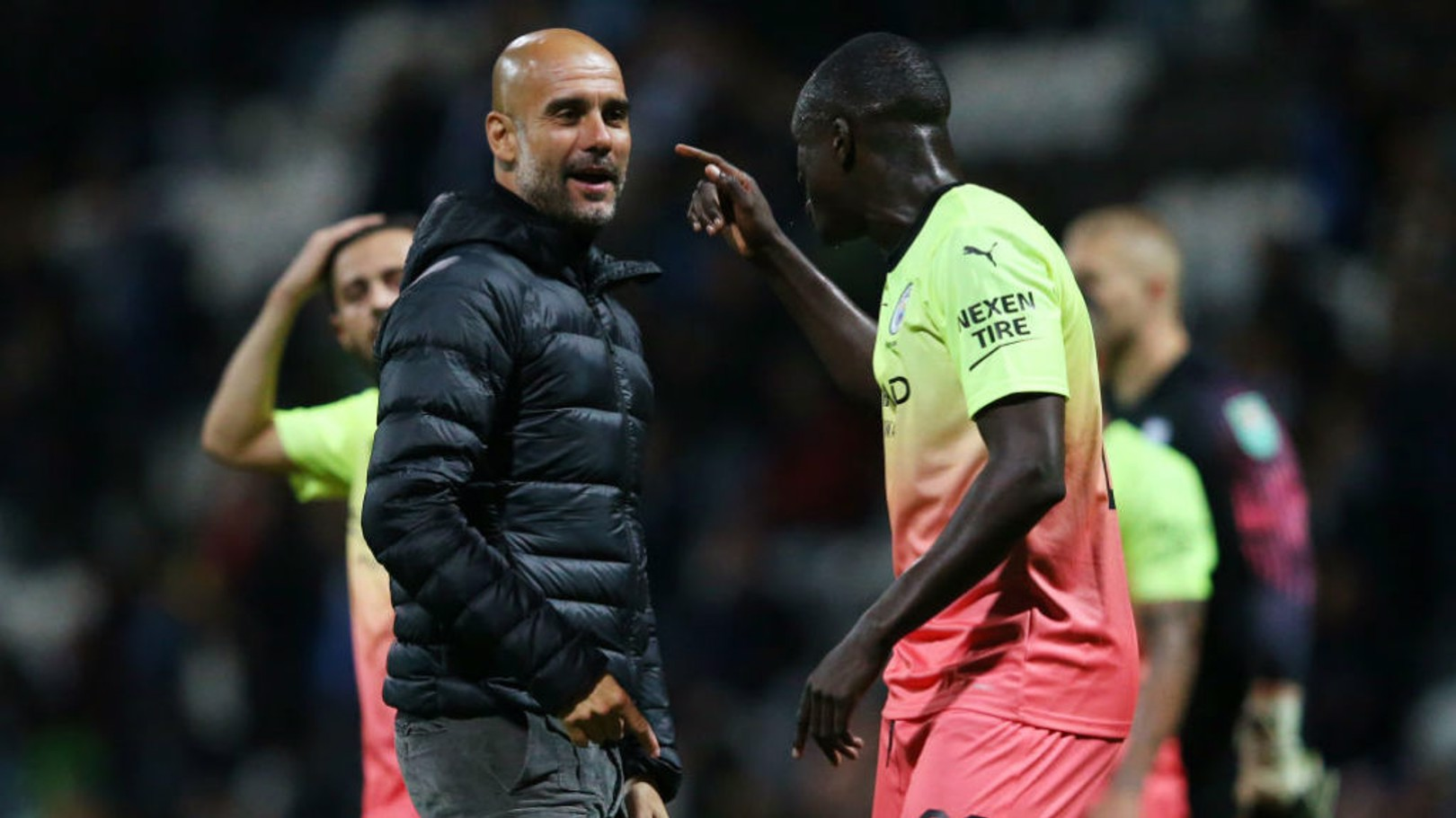 TOUGH JOB: Mendy says picking a City XI is not an easy task