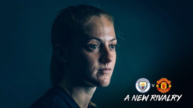 BIG GAME: Lifelong City fan Keira Walsh is targeting a big derby performance.