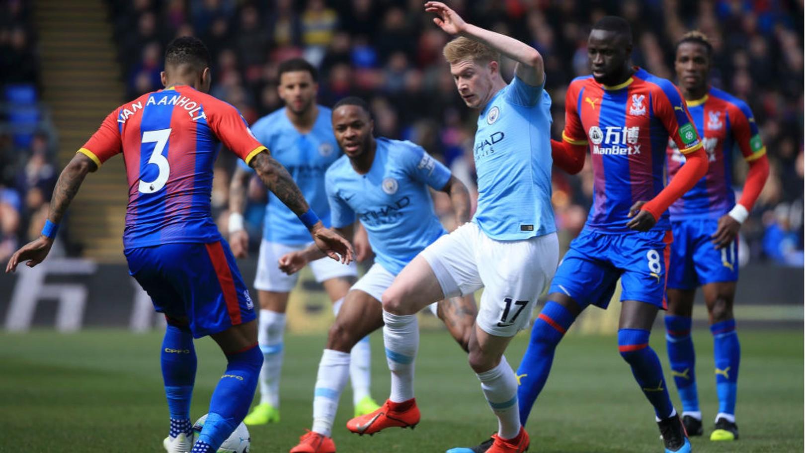 Crystal Palace v City: Ticket information