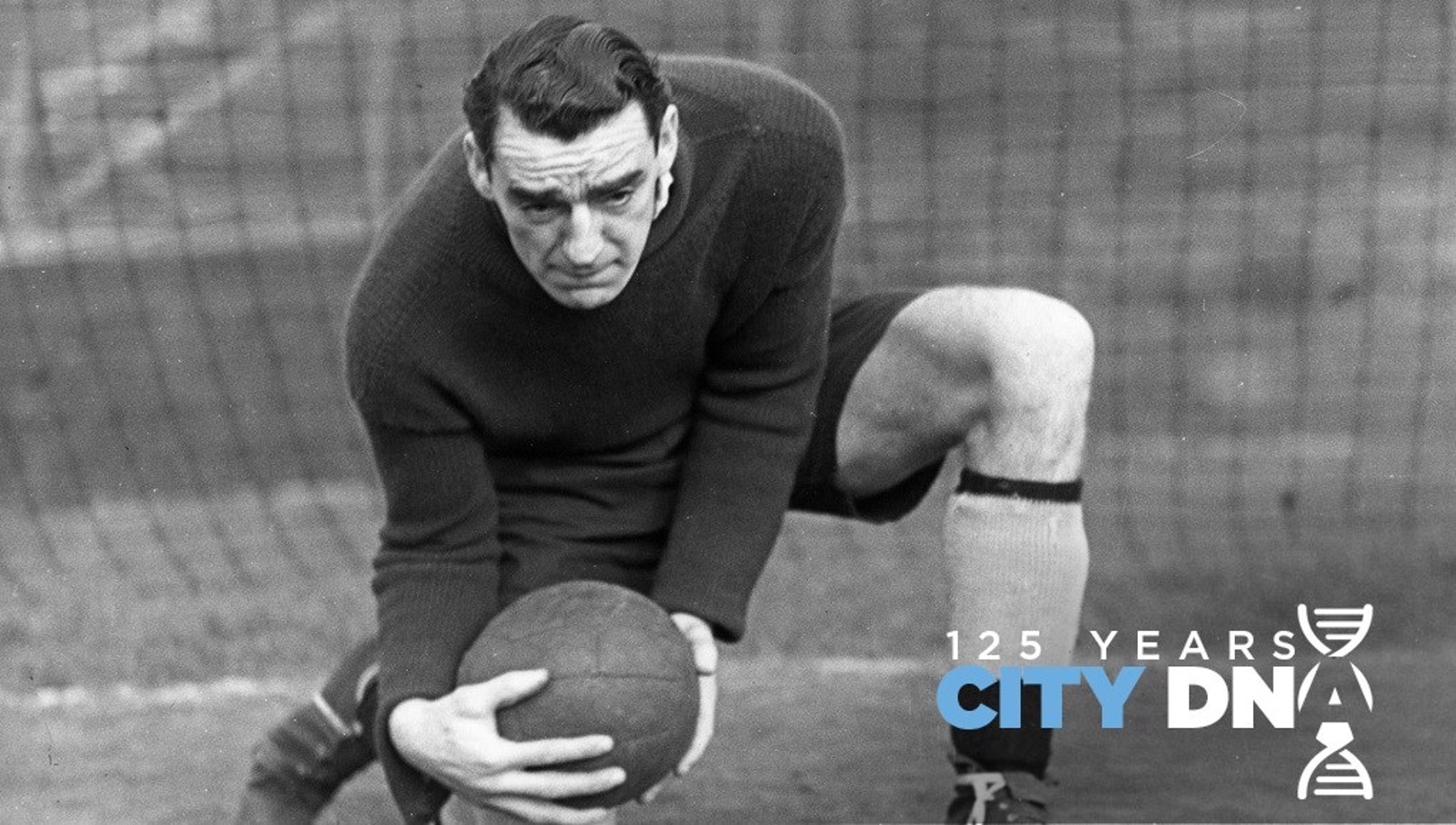 LEGEND: City great Frank Swift was part of the 1939/40 City squad