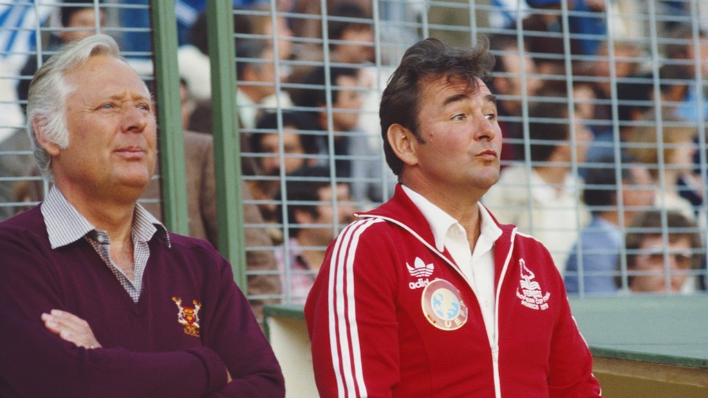 DREAM TEAM: Peter Taylor and Brian Clough used the Anglo-Scottish Cup as a launching pad for future success