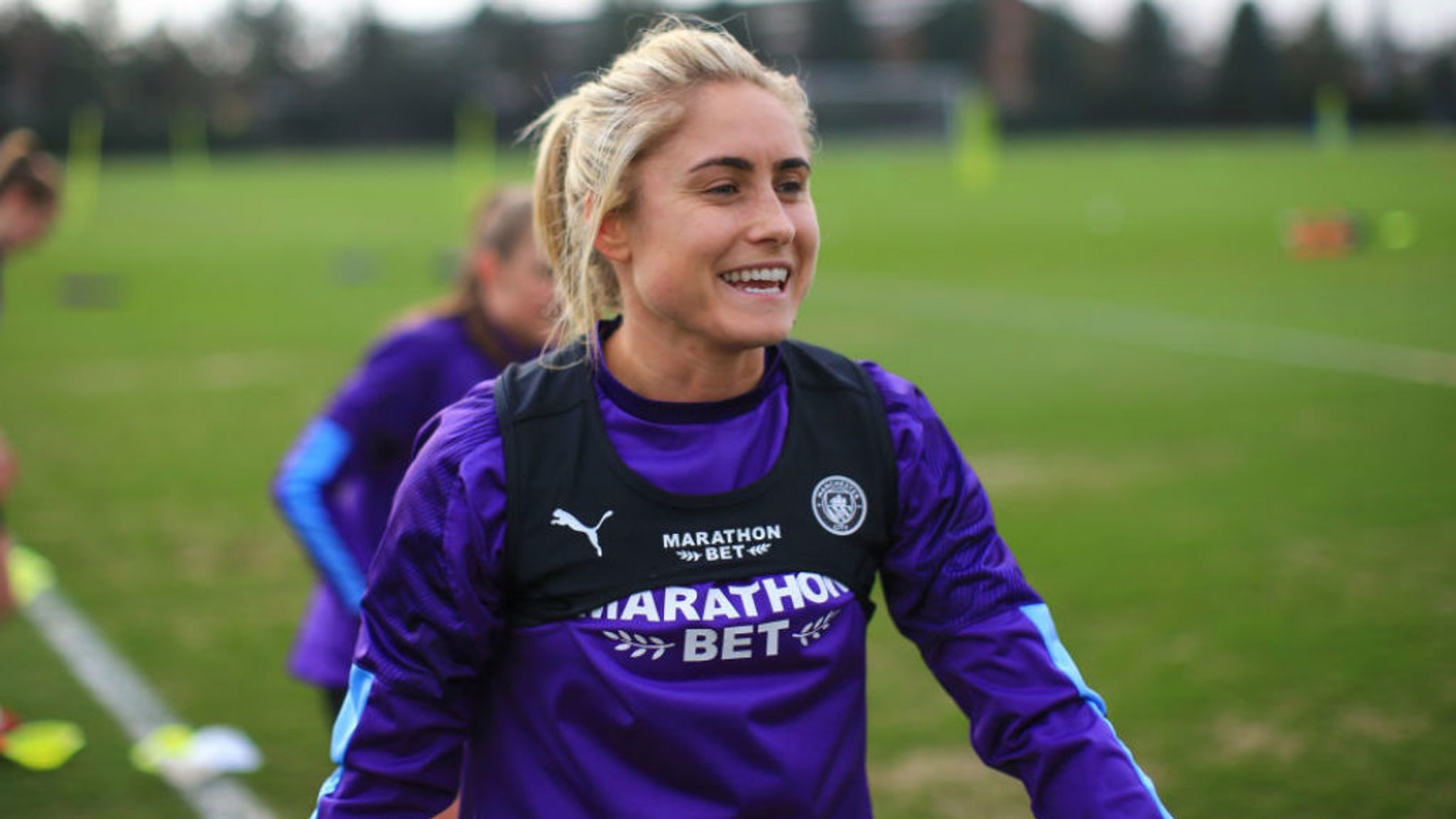 TALK OF THE TOWN: Steph Houghton says she fully understands how Sunday's opponents Ipswich have been gripped by Cup fever