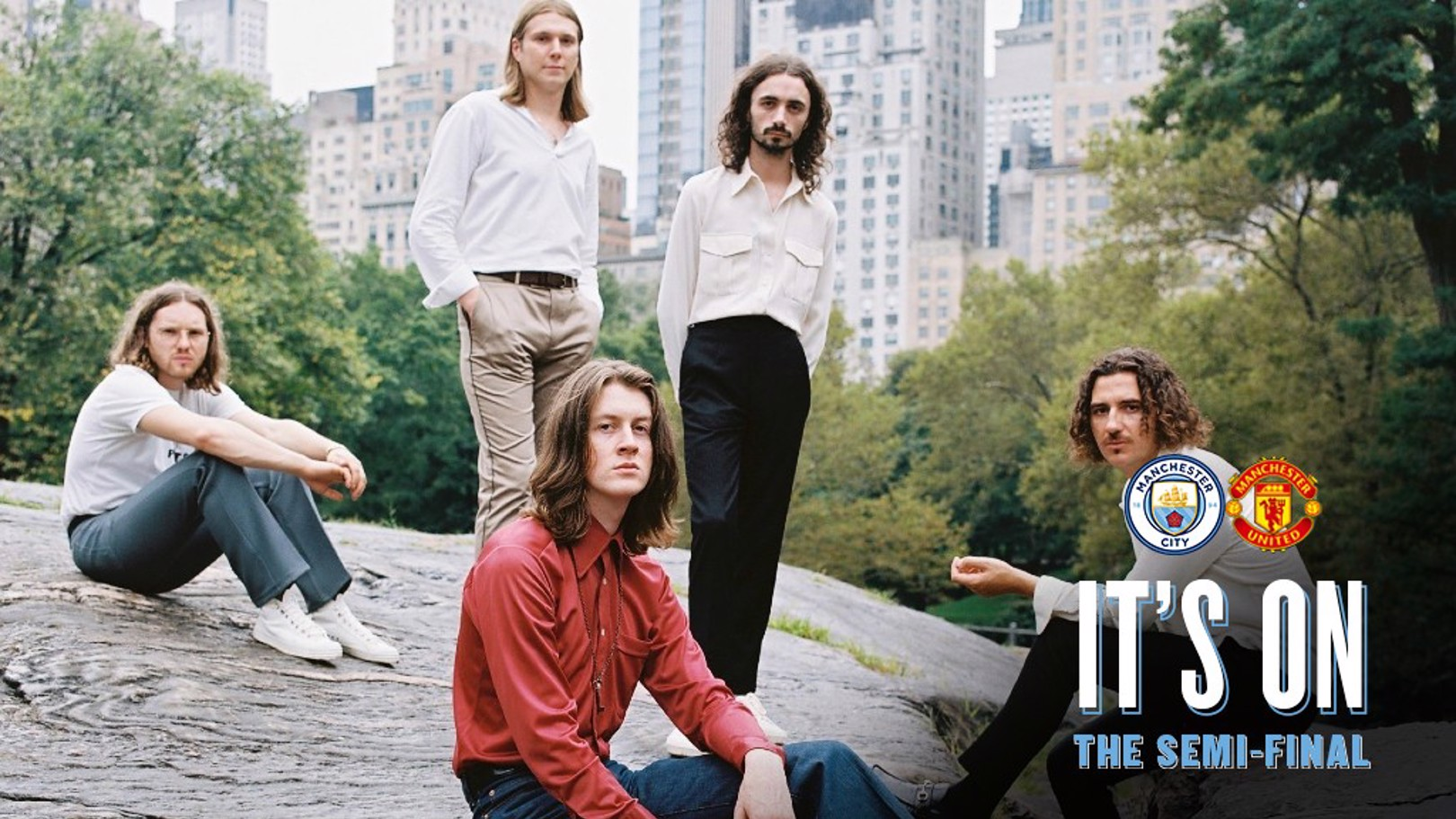 CITY BOYS: Former City Square performers, Blossoms, have picked their ultimate derby playlist.