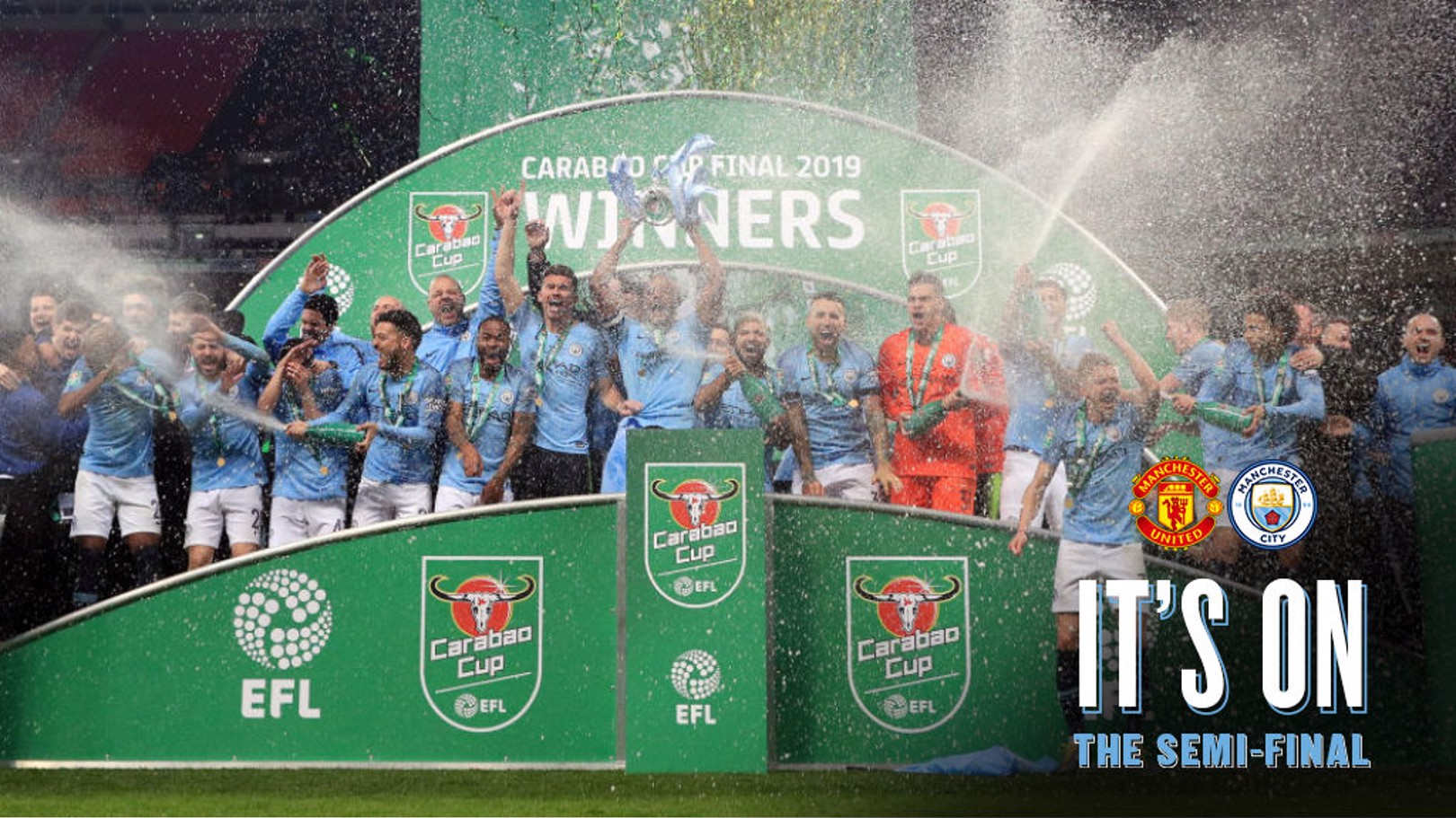 City's formidable Carabao Cup record