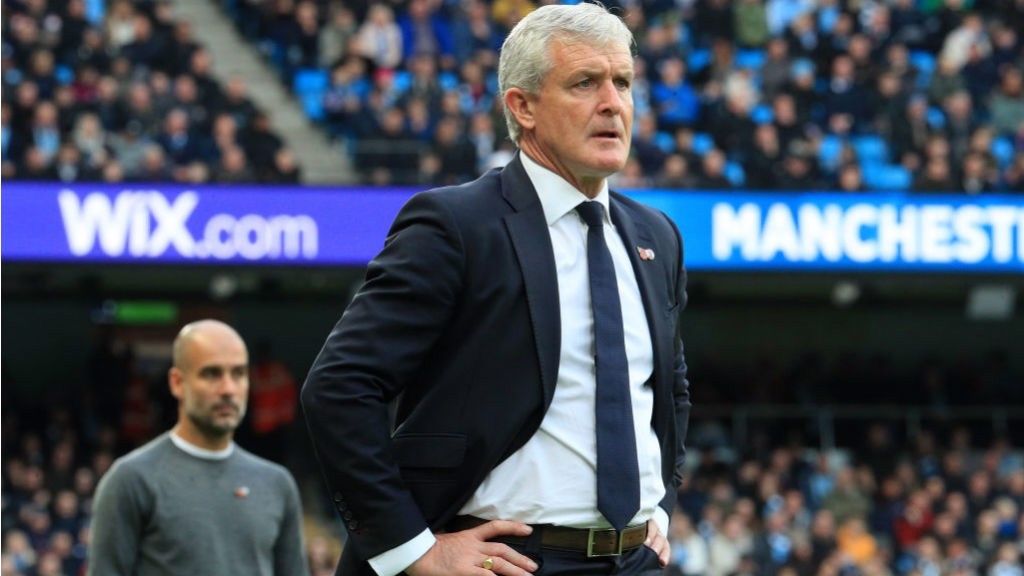 LEADING MAN: After starring on the field with United, Mark Hughes was later to become City manager