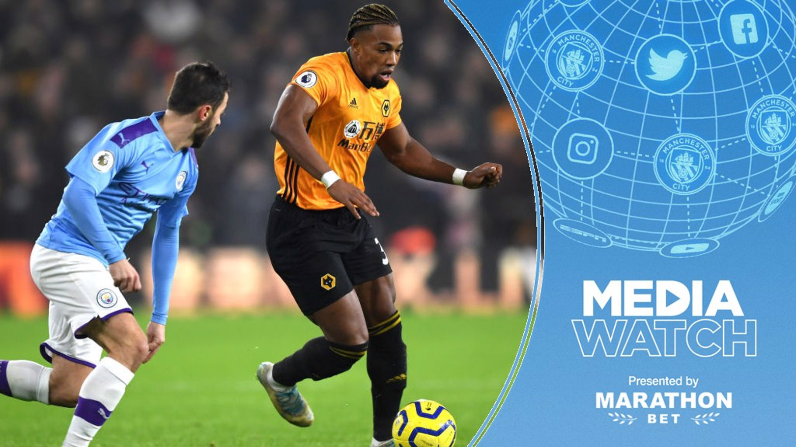 MEDIA WATCH: Press reports are suggesting City are eyeing Wolves' Adama Traore.