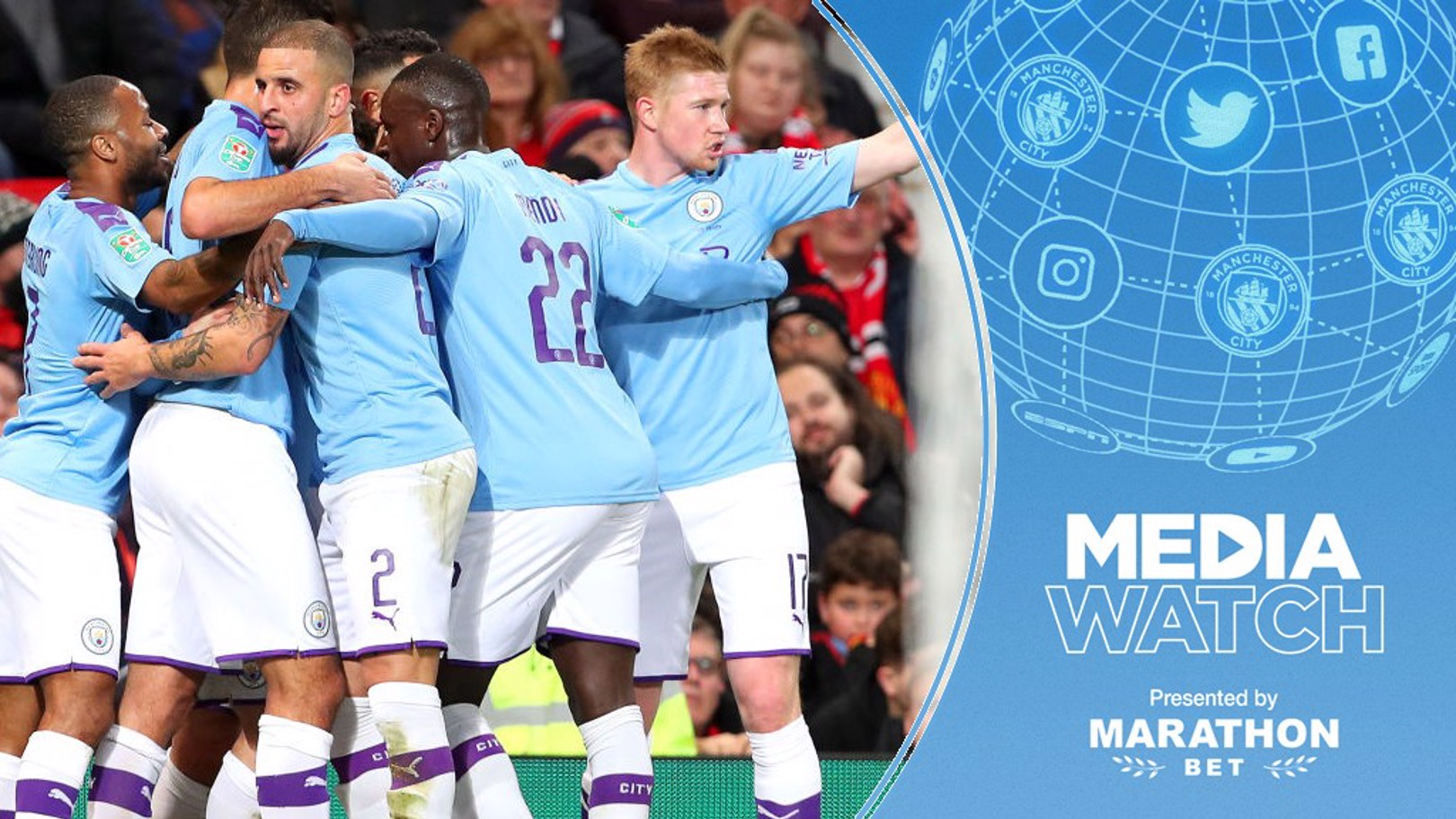 MEDIA WATCH: City have been widely praised for our 3-1 victory over Manchester United.