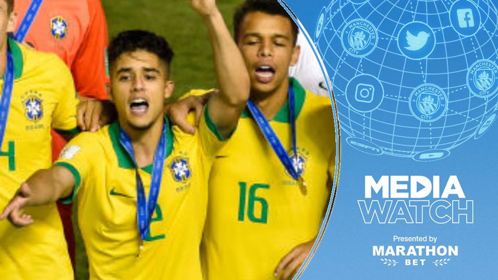 Media: City to pip Barca for Brazil teen defender?