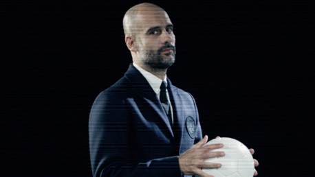 THE BOSS: Pep Guardiola is a friend of Dsquared2 founders Dan and Dean Caten.