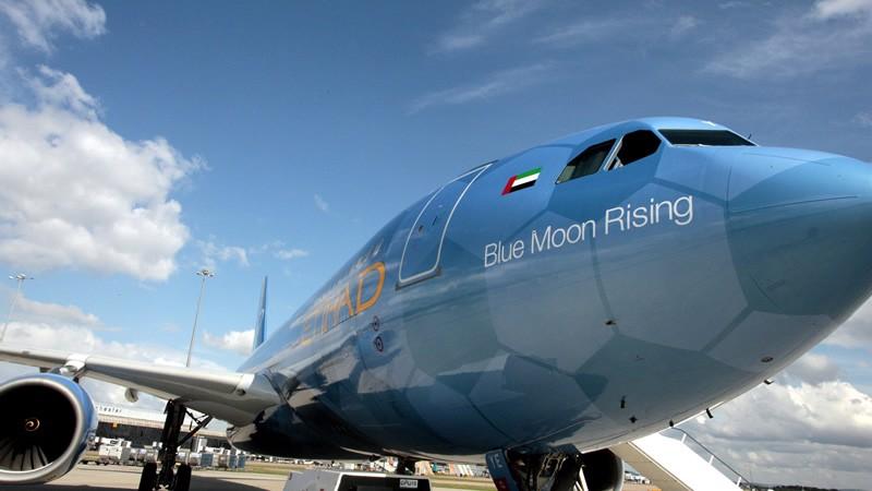 Etihad Airways aeroplane