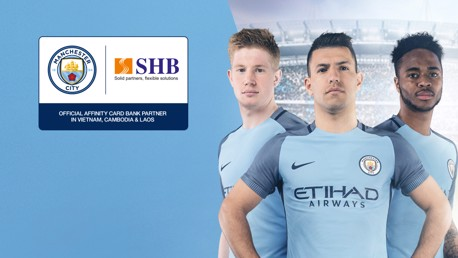 RENEWED: City will continue their partnership with Saigon Hanoi Commercial Joint Stock Bank.